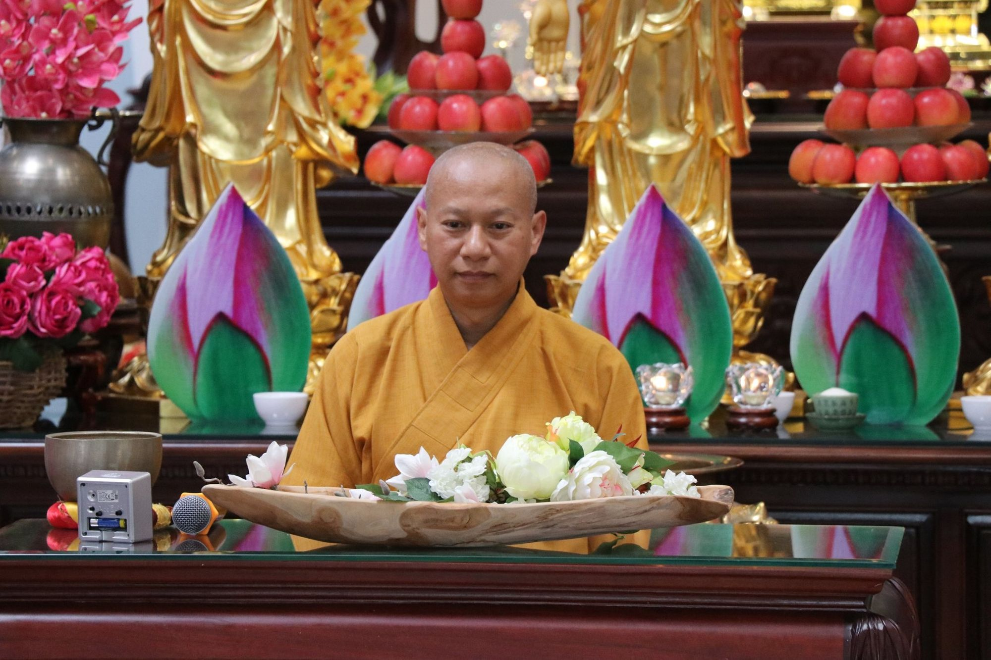 Dharma Talk by Ven. Thich Hanh Tan